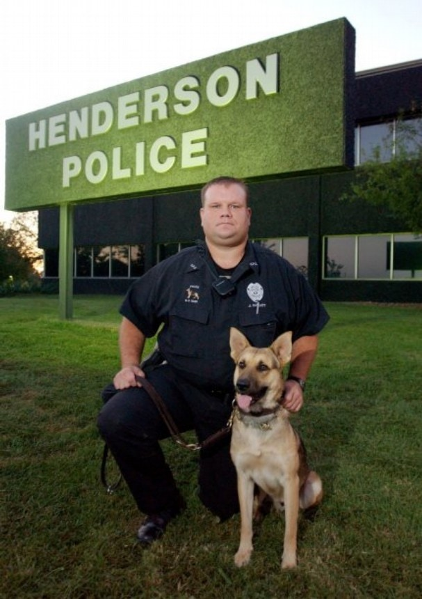 Bittersweet Retirement for Officer's K9 Companion