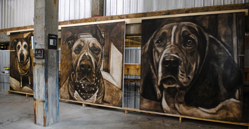 Non-Profit Using Art To Help Save Shelter Dogs