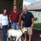 Couple Saves Dog From Drowning In A Canal