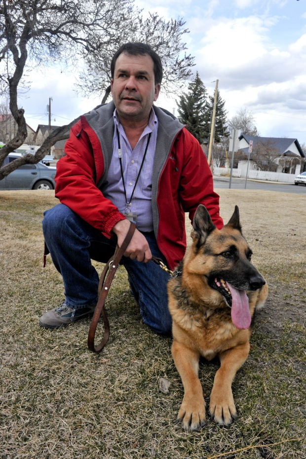 Police Officer And Police Dog Retire Together