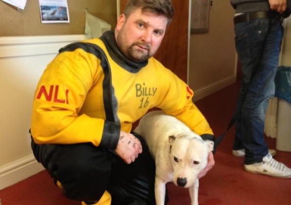 Kite Surfer And RNLI Save Dog Swept Out To Sea