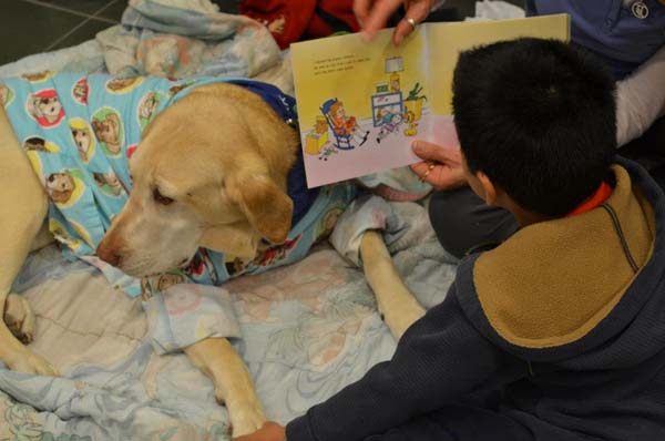 Dogs Help Kids Improve Reading Skills