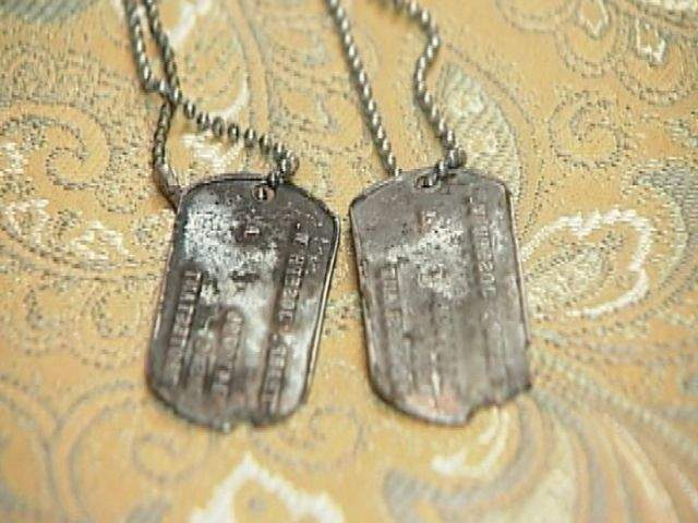 Dog Digs Up Missing Dog Tags