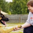 Service Dog Links Two Wounded Veterans