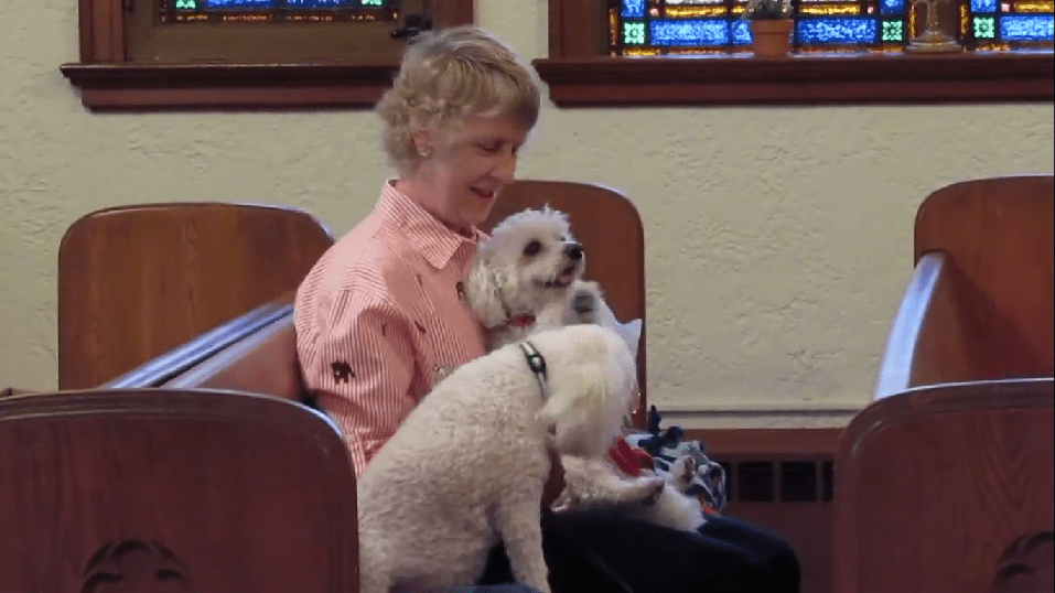 Church Welcomes Pets to Sunday Service