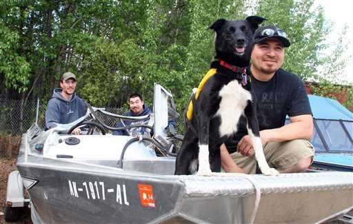 Dog Survives Days Trapped Under Overturned Boat
