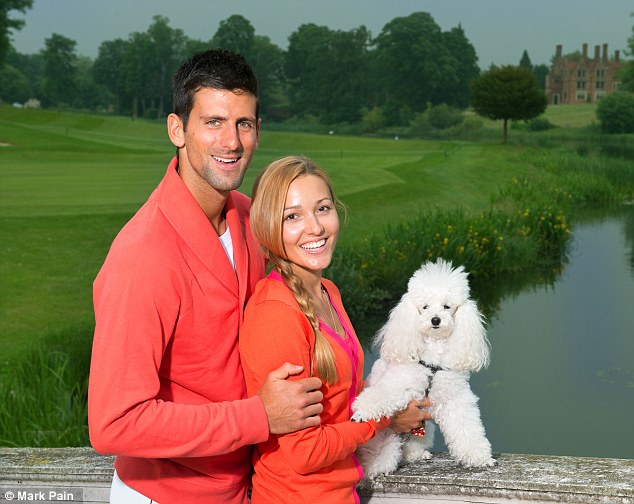Novak Djokovic's Dog Helps the Tennis Star Deal with French Open Loss