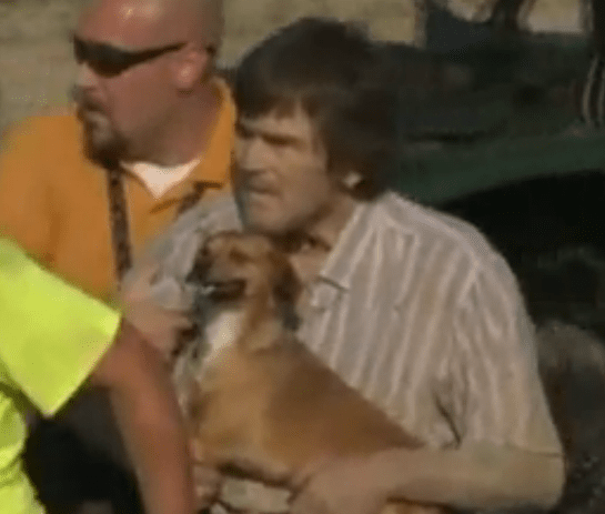 Dog's Bark Leads Rescuers to Missing Man