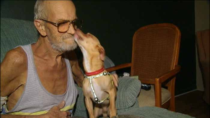 Update: Dying Man Reunited with his Missing Dog