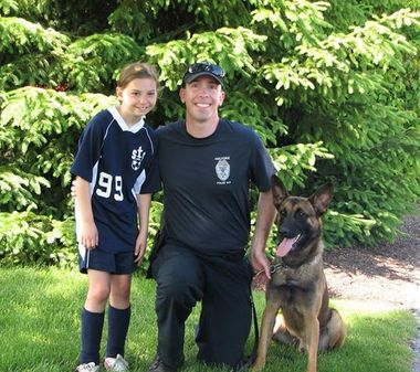 Ten-Year-Old Girl Celebrates Birthday by Raising Money for Police Dog