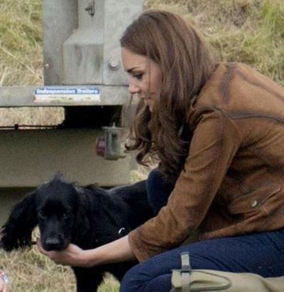Dog Drama at Middleton's Bucklebury Manor