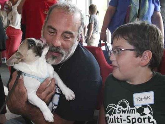 Cleft Palate Dog Bonds with Cleft Palate Kids