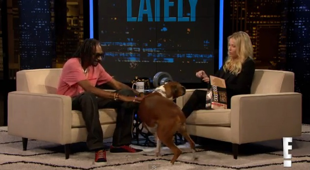Chelsea Handler & Snoop Lion Team up to Help Shelter Dogs