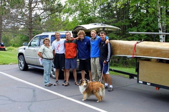 7.26.13 - Canoe Teens2