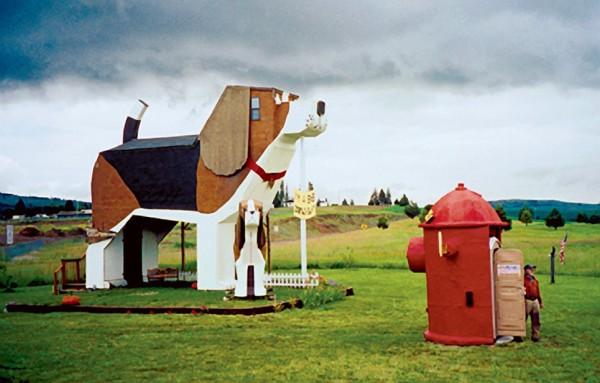 Traveling?  Try the Dog Bark Park Inn!