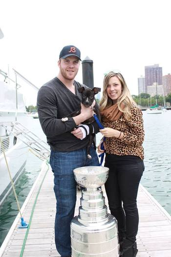 NHL Star Rescues Pit Bull from Death Sentence