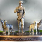 U.S Military Working Dog Teams National Monument Dedication Ceremony
