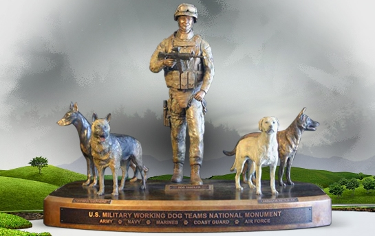 New Monument for Military Working Dogs