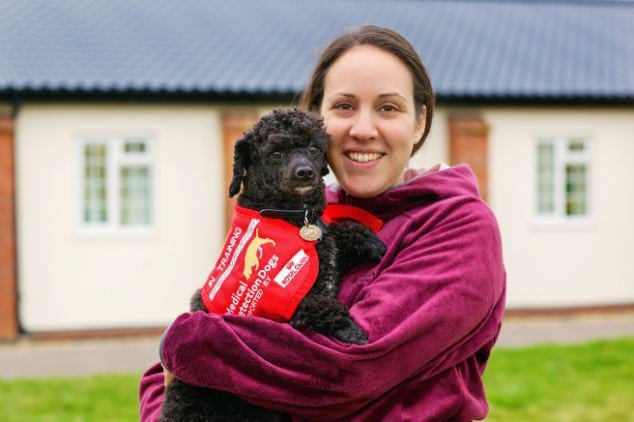 Nut Detecting Dog Making Big Difference for Woman with a Nut Allergy