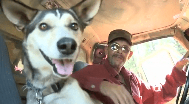 Homeless Vet Rusty Reed & His Dog Timber Finally Have a Home