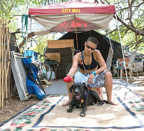 K9 Kokua Program Helps Homeless Hawaiian Dog Owners