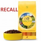 Recall on Nestle Purina Food