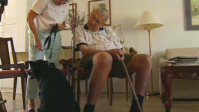 Dog Saves Elderly Man's Life