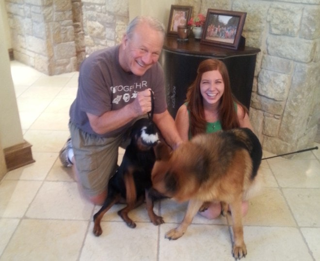 Former NFL Coach Barry Switzer Saves Dog