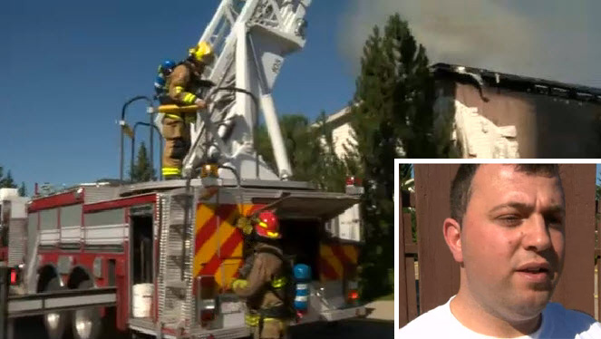 Neighbor Risks Own Life to Save Two Dogs from Burning Home