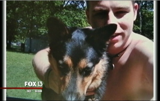 Family Reunited with Son's Dog After Fatal Accident