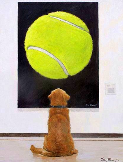 Artist Tom Mosser's Newest Piece Will Help Shelter Dogs