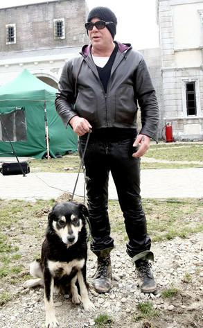 Mickey Rourke Pledges $250,000 to Open Romanian Dog Shelter