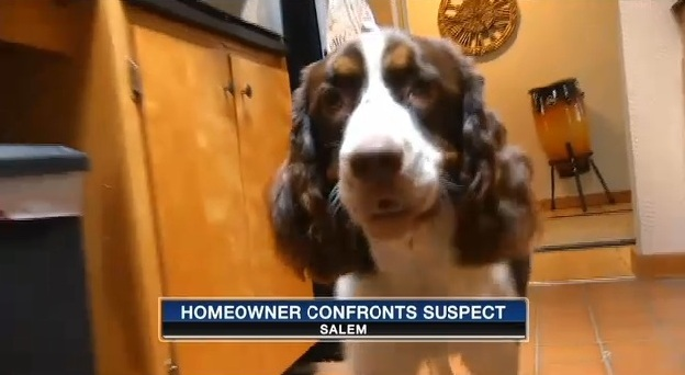 Deaf Dog Stops Home Invasion