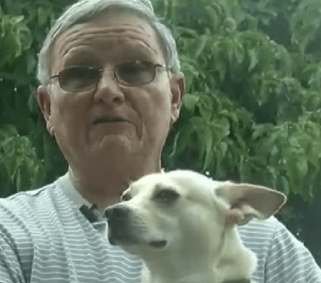 Man Saves Dog from Coyote Attack