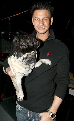 10.26.13 - Celebs and Their Dogs - DJ Puggy D
