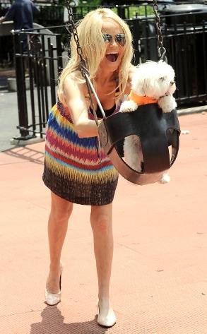 10.26.13 - Celebs and Their Dogs - Madeline Kahn