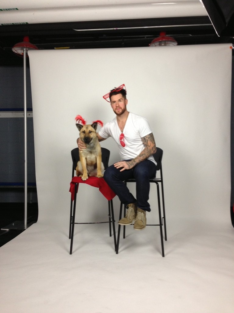 Washington Capitals and Shelter Dogs Team Up for Calendar Shoot
