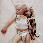 Boy and New Puppy Form Special and Adorable Nap Time Routine