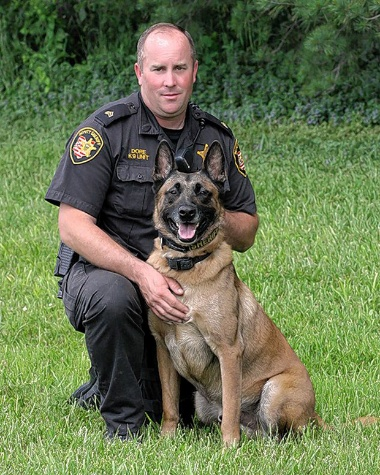 Police K9 Recognized by Local Red Cross with Hero Award