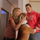 Adopter Returns Dog Lost in Tornado to Young Girl