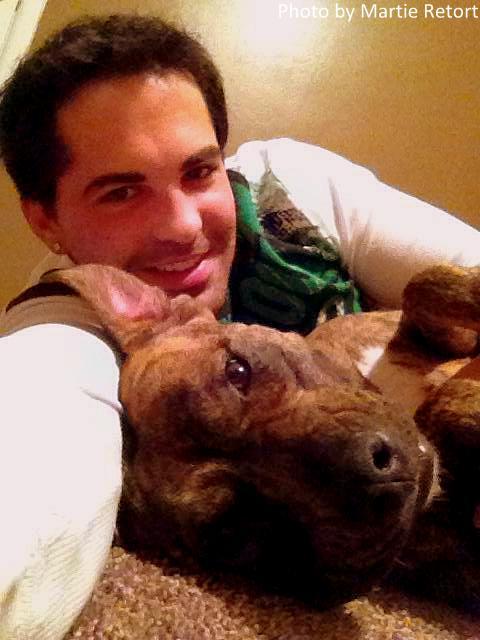 Unadoptable Pit Bull Becomes Nanny Dog