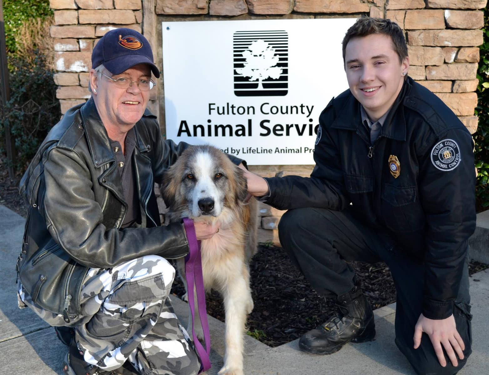 Dog Rescued from Flood Now in Forever Home
