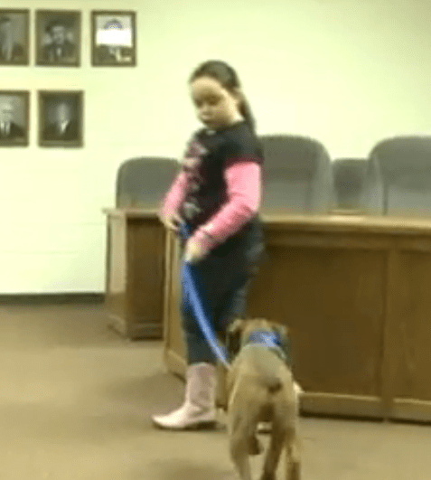 Young Girl Uses her Savings to Save Dog's Life