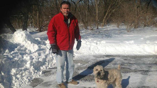 Dog Owner Saves Own Dog from Coyote Attack