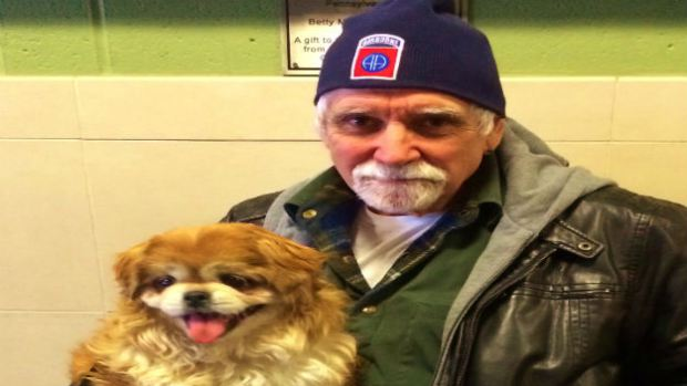 Sixteen-Year-Old Blind Pet Finds Forever Home