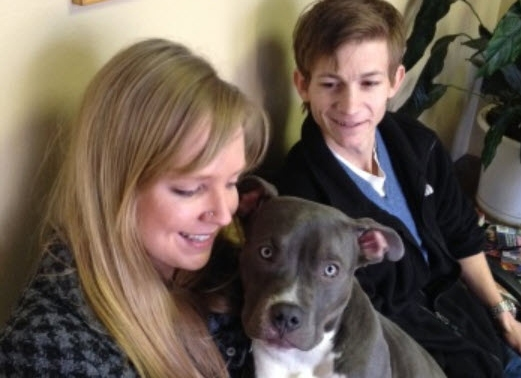 Social Media Reunites Chunk, the Stolen Dog, with His Rightful Owners