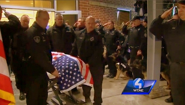 K-9 Rocco Sacrifices Self to Nab Sex Offender