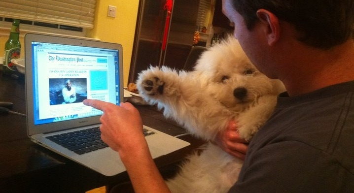 Mark Zuckerberg's Dog Beast Rules Facebook