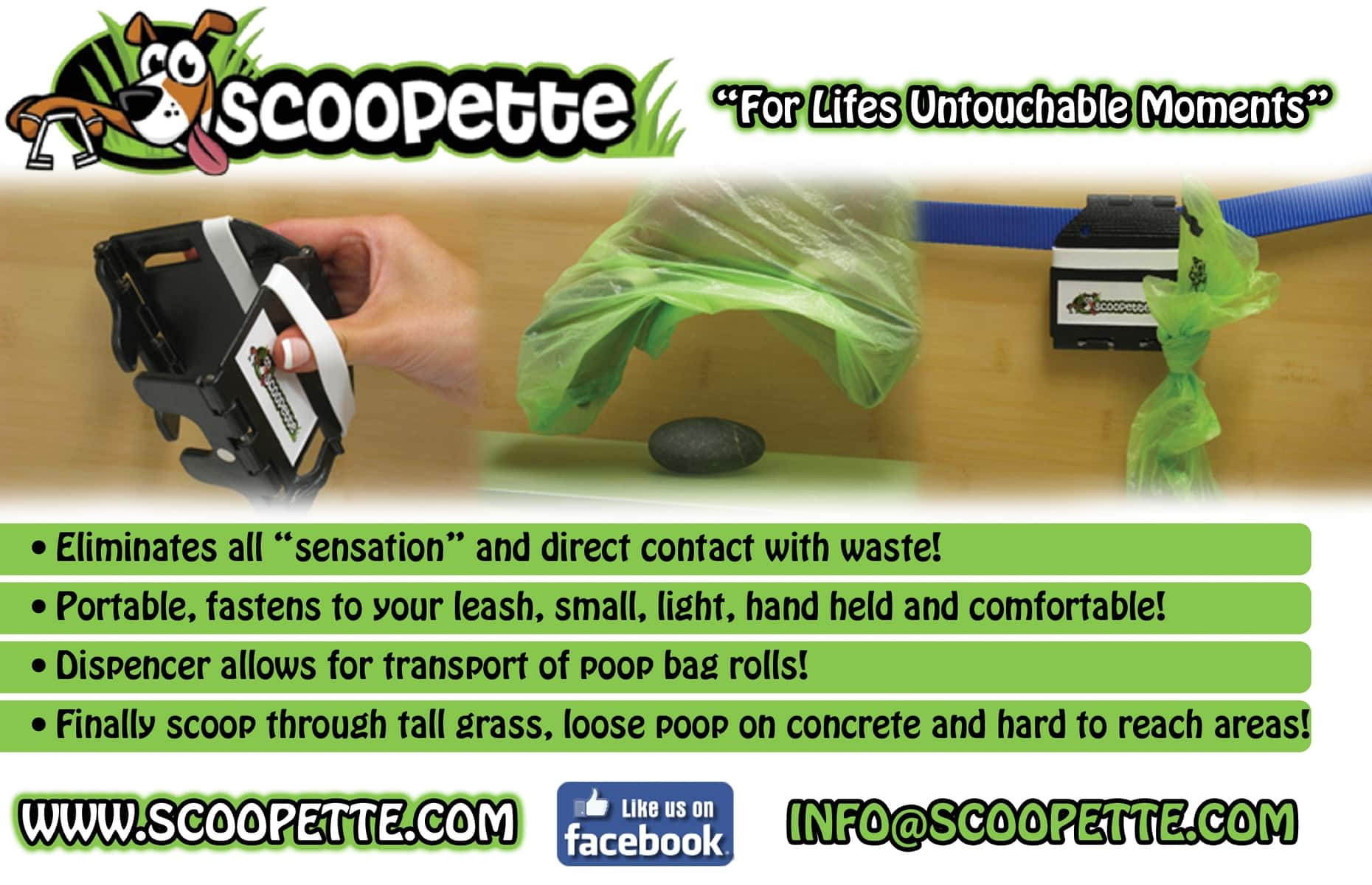Scoop It Up with the Scoopette!