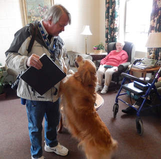 Therapy Dog Honored for her 1,000th Visit